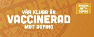 Vår klubb är vaccinerad mot doping - Svensk antidoping - Ockelbo Atlet Klubb